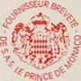 Fournisseur Breveté de S.A.S. le Prince Souverain de Monaco